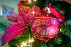 Italian christmas ball Stock Image