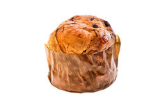 Italian christmas cake called panettone royalty free stock images