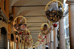 Italian Christmas Decorations royalty free stock image