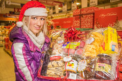 Italian Christmas Products Stock Images