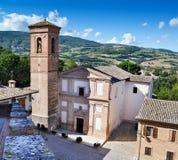 Italian church Stock Photography