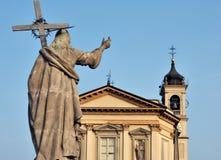 Italian church Royalty Free Stock Photo