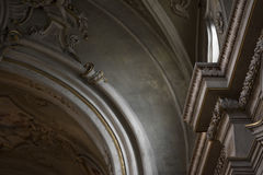 Italian church architecture Royalty Free Stock Photos