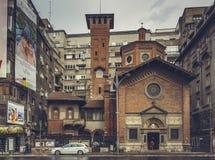 Italian Church, Bucharest, Romania Stock Photo