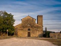 Italian church - Pieve di Sorano in Lunigiana area. Royalty Free Stock Images
