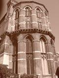 Italian church tower Stock Photo