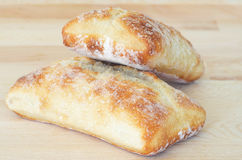 Italian ciabatta bread Stock Photography