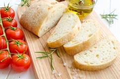 Italian ciabatta bread Stock Image