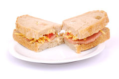 Italian Ciabatta sandwiches Stock Photo