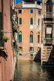 Italian cities - Venice. Venice is a city in northeastern Italy sited on a group of 118 small islands separated by canals and linked by bridges. It is located in royalty free stock images