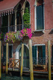 Italian cities - Venice. Venice is a city in northeastern Italy sited on a group of 118 small islands separated by canals and linked by bridges. It is located in royalty free stock photography