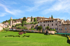 Italian city of Assisi,  cityscape Stock Photo