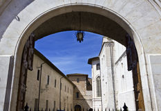 Italian city Assisi, Italy Royalty Free Stock Images