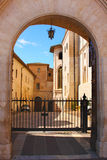 Italian city Assisi, monastery of St. Francesco Royalty Free Stock Images