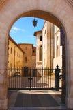 Italian city Assisi, monastery of St. Francesco Royalty Free Stock Images