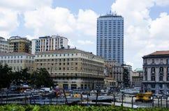 Italian city Naples. Royalty Free Stock Image