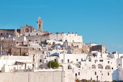 Italian city Ostuni Royalty Free Stock Photos