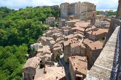Italian city rooftops Stock Photos