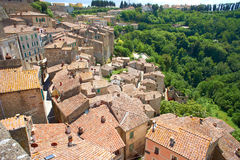 Italian city rooftops Royalty Free Stock Image