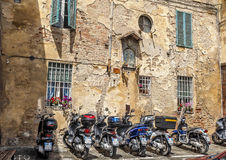 The Italian city of Siena is the eternal rival of Florence Stock Photography