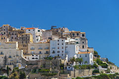 Italian city of Sperlonga Royalty Free Stock Photo