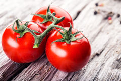Italian ciusine.Cerry tomato Royalty Free Stock Photos