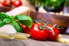 Italian ciusine stock photo