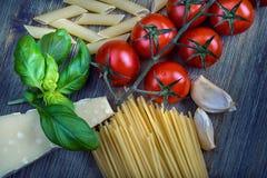 Italian ciusine Stock Images