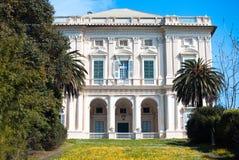 Italian classic villa Stock Images
