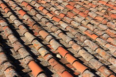 Italian Clay tiles Stock Photography