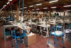 Italian clothing factory Royalty Free Stock Photo