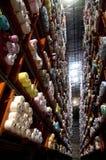 Italian clothing factory - Automatic warehouse Royalty Free Stock Photography