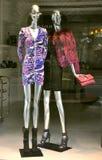 Italian clothing fashion shop in Florence  Stock Photo