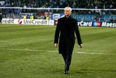 Italian coach Claudio Ranieri Royalty Free Stock Images