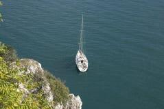 Italian coast. Coast of italy near triest Royalty Free Stock Image