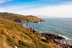 Italian coast Royalty Free Stock Photography