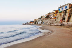Italian coast Stock Photography