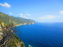Italian coast Stock Photo