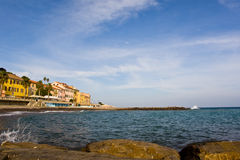 Italian coast Royalty Free Stock Images