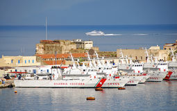 Italian Coast Guard base Royalty Free Stock Image