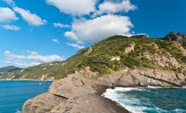 Italian coast line Stock Photos
