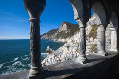 Italian coast - Portovenere Stock Image