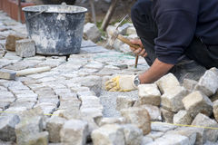 Free Italian Cobblestone Paver Stock Image - 30580651