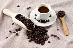 Italian coffee Stock Image