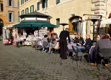 Italian coffee bar royalty free stock photography