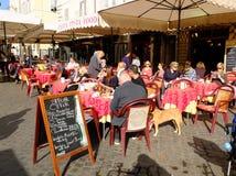 Italian coffee bar Stock Photos