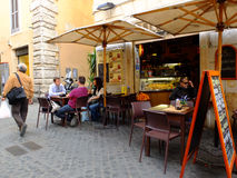 Italian coffee bar Royalty Free Stock Images