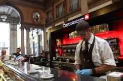 Italian coffee bar Stock Image