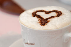Italian Coffee Cappuccino royalty free stock photos