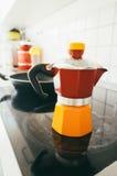 Italian coffee maker Stock Photos